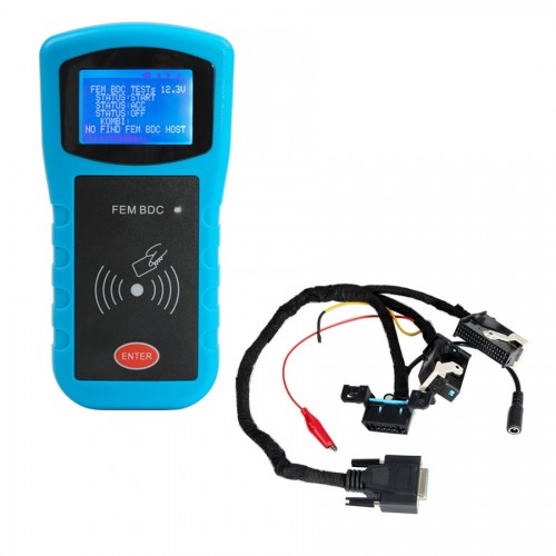 BMW FEM/BDC Key Programmer Data Desktop Test Platform for FEM/BDC Key and Program ECU Gearbox