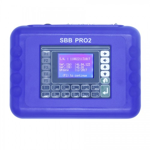 SBB Pro2 Key Programmer V48.88 Support Cars to 2017 Replace SBB 46.02