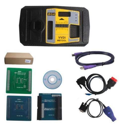 Original Xhorse V3.0.0 VVDI MB BGA TooL Benz Key Programmer Including BGA Calculator Function