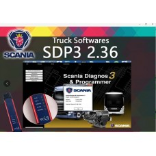 Scania SDP3 2.36 Diagnosis & Programming for VCI 3 VCI3 without Dongle