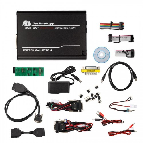 Latest Version V54 FGTech Galletto 4 Master BDM-TriCore-OBD Function