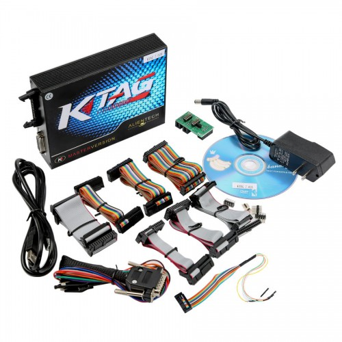 2017 Latest V2.23 KTAG ECU Programming Tool Firmware V7.020 KTAG Master Version with Unlimited Token Free Shipping