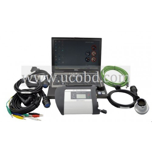 2019.12 Best Quality MB SD C4 With Dell D630 Laptop Full Set Ready To Use