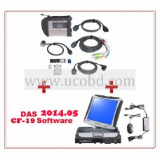 MB SD Connect C4 With Panasonic CF-19 Touch Screen Laptop Full Set Ready To Use