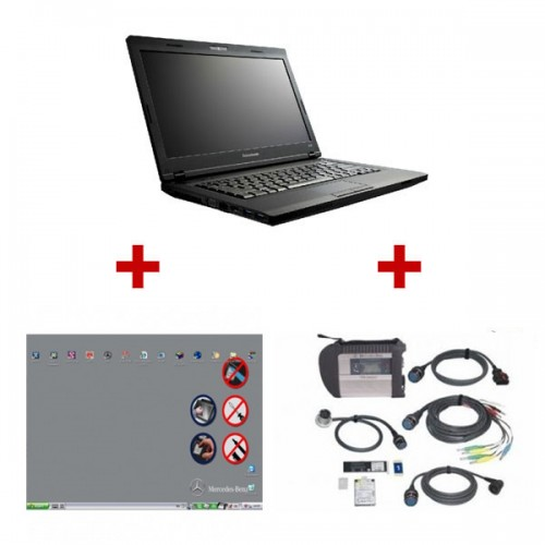 2019.07 Best Quality MB SD Connect C4 With Brand New Lenovo E49A Laptop Ready To Use