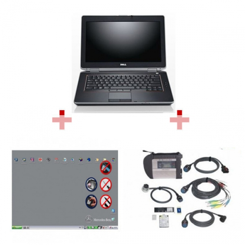 2019.12 Best Quality MB SD Connect C4 With DELL E6420 Laptop Ready To Use