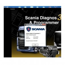 Scania SDP3 2.34 Diagnosis & Programming for Scania VCI3 VCI 3 without Dongle