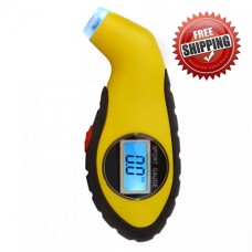 VXDAS Air Digital Tire Pressure Gauge Car Vacuum Tyre Pressure Tester Motorcycle Pressure Diagnostic Tool